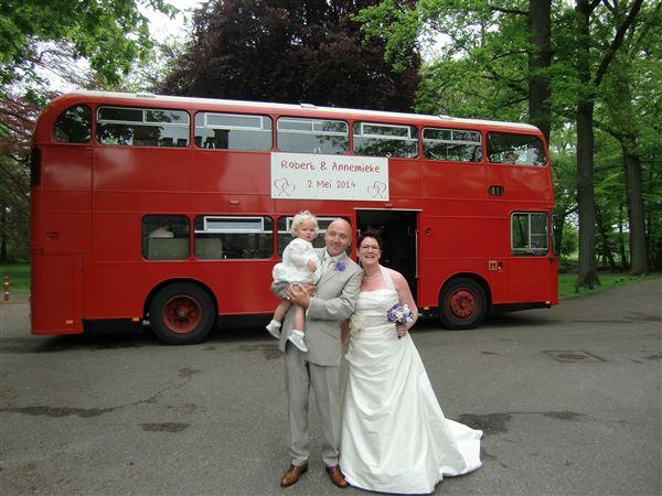 Dubbeldekker bruiloft